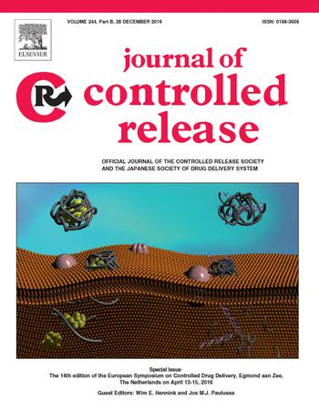 Elsevier Journal Of Controlled Release Template