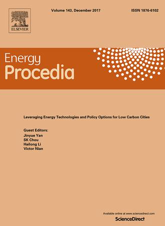 Elsevier Energy Procedia Template