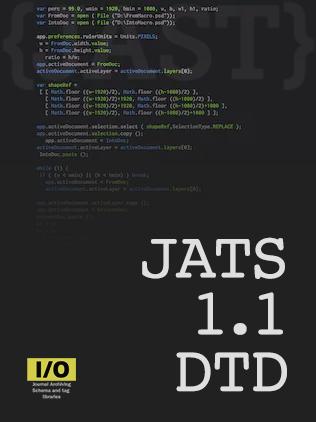JATS 1.1 DTD